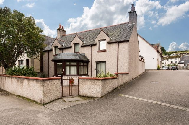 Thumbnail Detached house for sale in 25 Burn Place, Dingwall, Highland