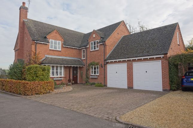 Thumbnail Detached house for sale in Hall Farm Close, Queniborough, Leicester