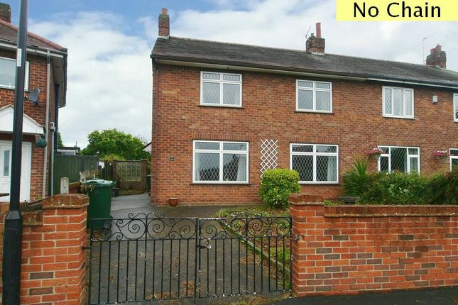 Thumbnail Semi-detached house for sale in Ballam Avenue, Scawthorpe, Doncaster.