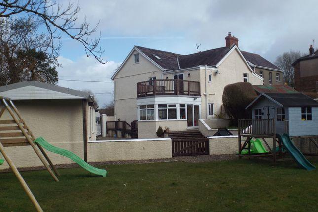 Thumbnail Semi-detached house for sale in Llannon Road, Pontyberem, Llanelli