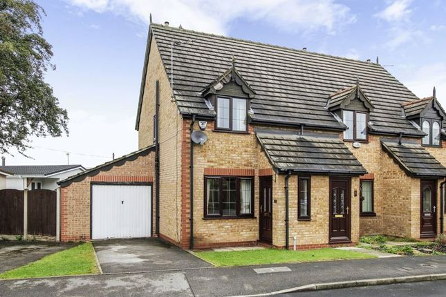 Thumbnail Mews house for sale in Holly Croft Grove, Tickhill, Doncaster