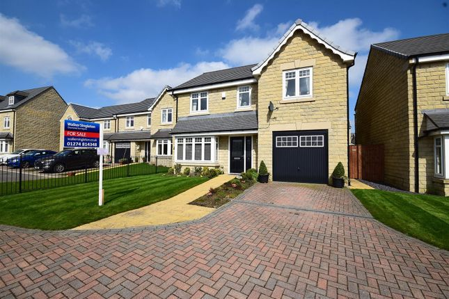 Thumbnail Detached house for sale in Burwood Gate, Queensbury, Bradford