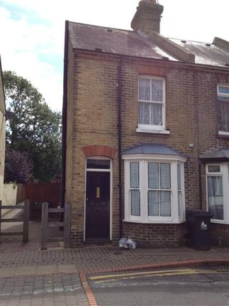 Thumbnail Terraced house to rent in St. Peters Grove, Canterbury
