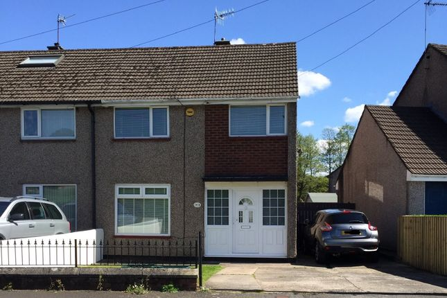 Thumbnail Terraced house for sale in Ogmore Crescent, Bettws, Newport