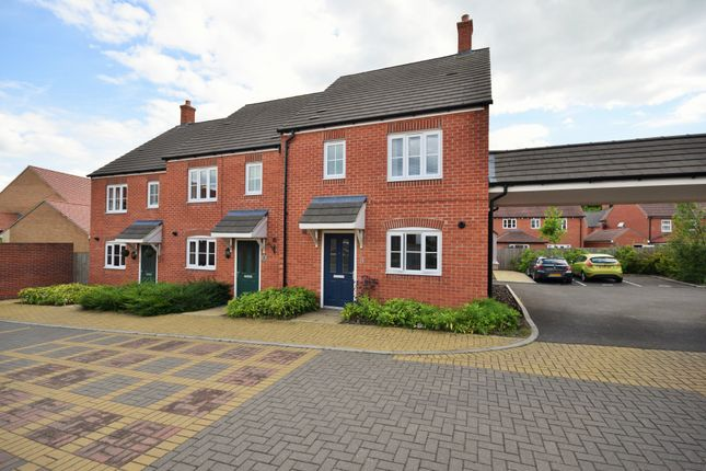 Thumbnail End terrace house for sale in Scotney Close, Kingsnorth, Ashford