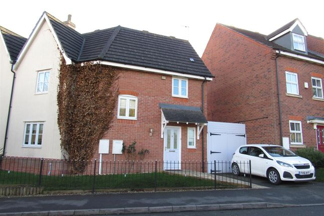 3 bed semi-detached house for sale in Barons Close, Kirby Muxloe, Leicester