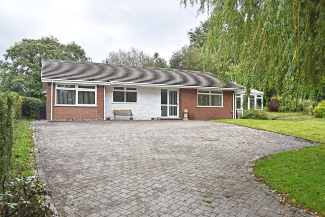 Thumbnail Detached bungalow for sale in Cefnllys Lane, Llandrindod Wells