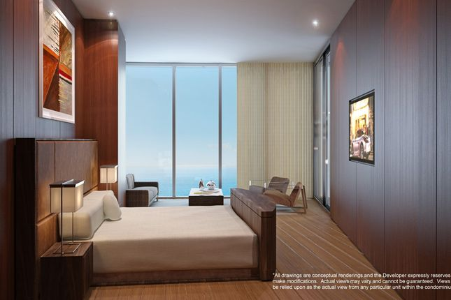 Penthouse Guest Bedroom At The Porsche Design Tower In Miami
