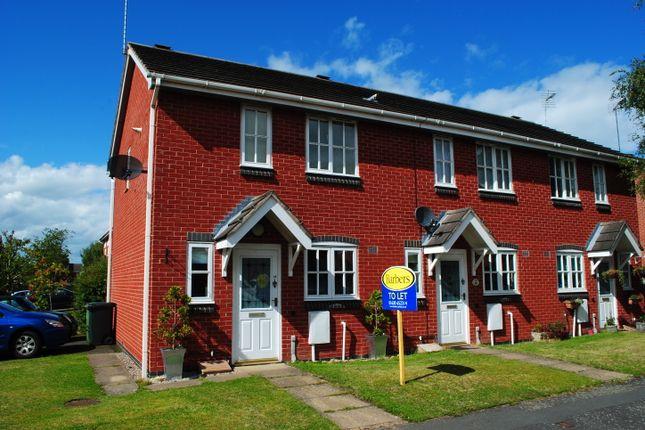 Thumbnail End terrace house to rent in Chancel Drive, Market Drayton