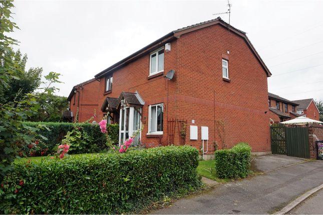 Thumbnail Semi-detached house for sale in Peckham Close, Danescourt