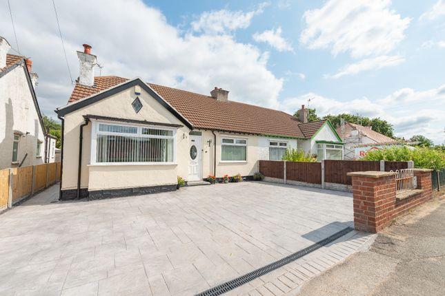 Thumbnail Semi-detached bungalow for sale in Cross Lane, Bebington, Wirral