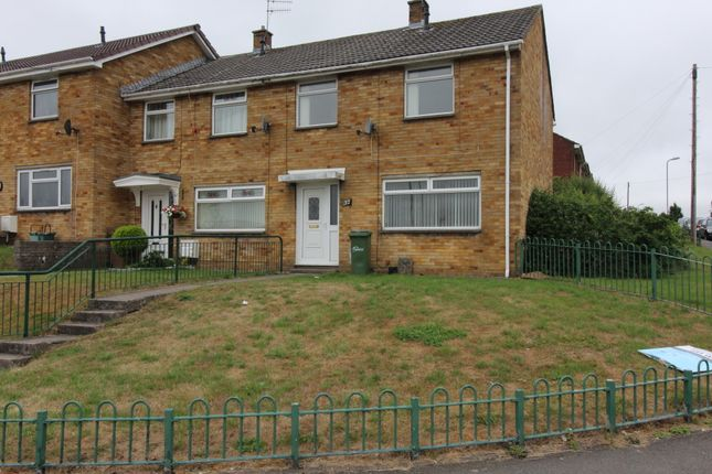 Thumbnail End terrace house to rent in Chartist Way, Blackwood