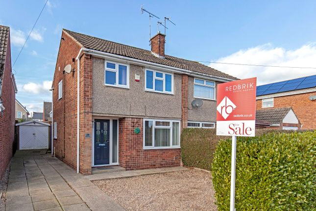 Thumbnail Semi-detached house for sale in Brooke Drive, Brimington, Chesterfield
