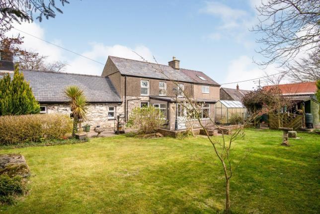 Thumbnail Detached house for sale in Llithfaen, Pwllheli, Gwynedd