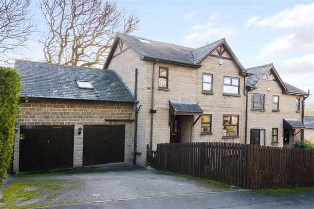 Thumbnail Semi-detached house for sale in Newlay Wood Rise, Horsforth, Leeds