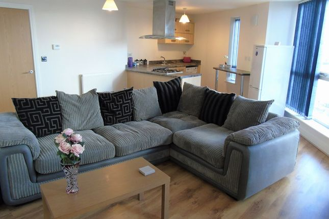 Thumbnail Flat for sale in Vyvyan House, Kerrier Way, Camborne, Cornwall.