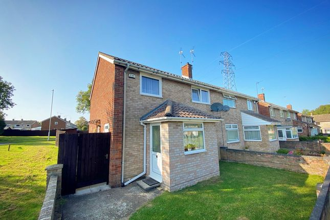 Thumbnail Semi-detached house for sale in Winterbourne Court, Corby