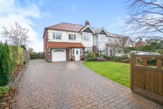 Thumbnail Semi-detached house for sale in Wilmslow Road, Mottram St Andrew, Cheshire