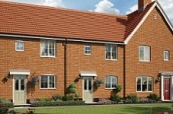 Thumbnail Terraced house for sale in Off Saham Road, Watton