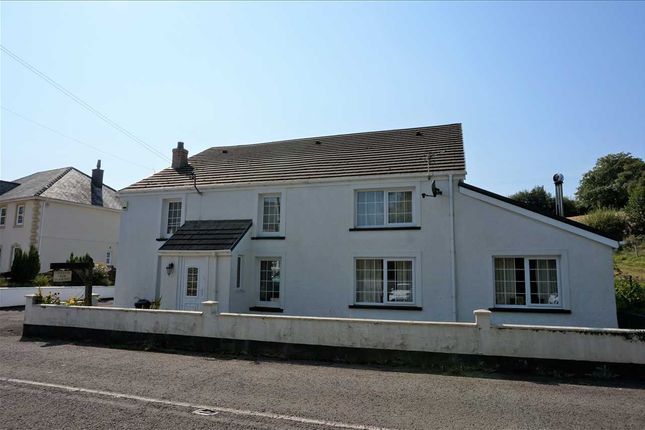 Thumbnail Detached house for sale in Ty Newydd, Pontardulais Road, Cross Hands, Llanelli