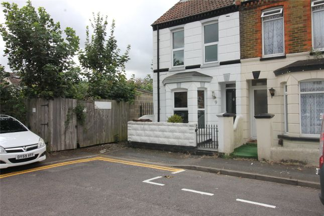Thumbnail End terrace house to rent in Osborne Road, Gillingham, Kent
