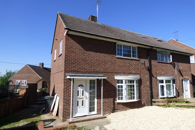 Thumbnail Semi-detached house to rent in Shepherds Road, Winchester