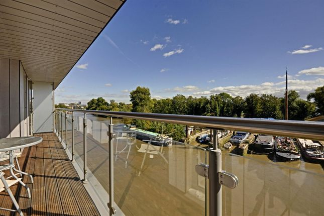 Balcony of Lighterage Court, High Street, Brentford TW8