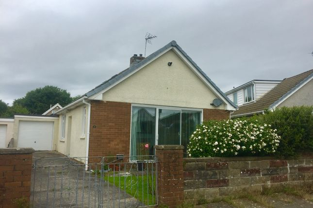 Thumbnail Bungalow to rent in Hazel Close, Porthcawl