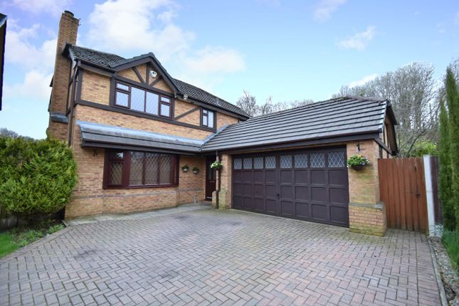 Thumbnail Detached house for sale in The Heys, Prestwich, Manchester