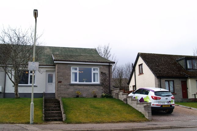 Thumbnail Semi-detached bungalow for sale in Ordview Lane, Nairn