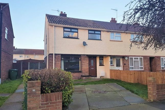 Thumbnail Semi-detached house to rent in Merton Avenue, Gorleston, Great Yarmouth