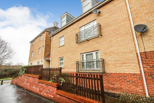 Thumbnail Flat for sale in Mawkin Close, Three Score, Norwich