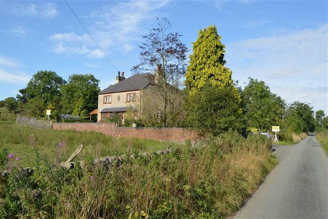 Thumbnail Detached house for sale in Reapsmoor, Longnor, Buxton