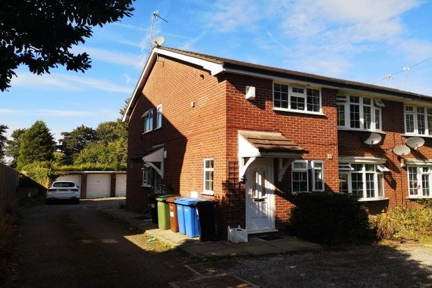 Thumbnail Flat to rent in Bramhall Lane, Stockport