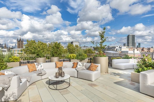 The Roof Terrace of 99-105 Horseferry Road, Westminster, London SW1P