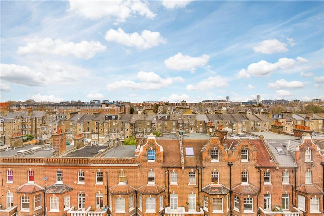 Roof Top Views of Barton Court, Barons Court Road, London W14