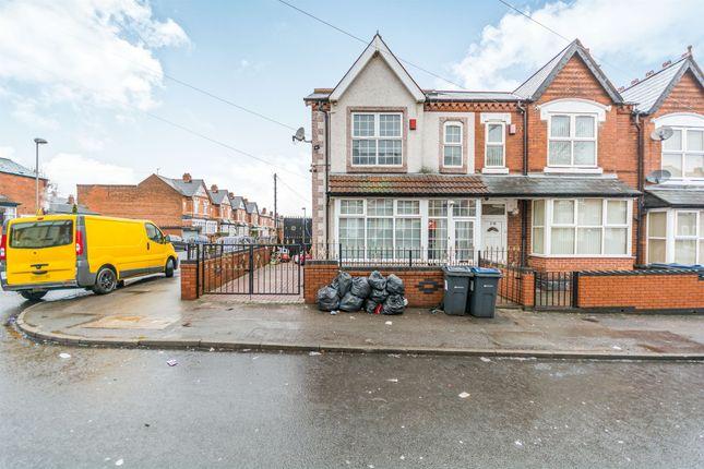 Thumbnail End terrace house for sale in Rotton Park Road, Edgbaston, Birmingham