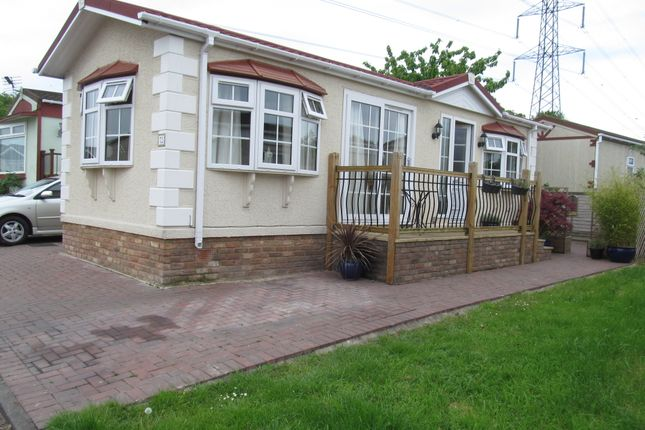 Thumbnail Mobile/park home for sale in Breach Barnes Park (Ref 5898), Galley Hill, Waltham Abbey, Essex