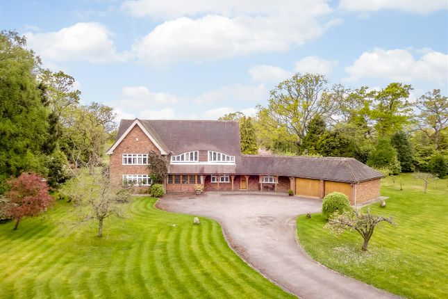 Thumbnail Detached house for sale in Chessetts Wood Road, Lapworth, Solihull