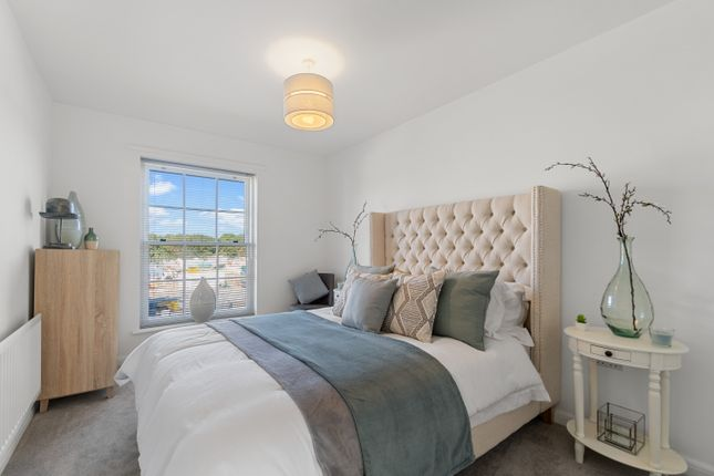 Thumbnail 2 bed flat for sale in Capricorn Way, Sherford, Plymouth