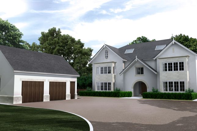 Thumbnail Detached house for sale in Hough Lane, Wilmslow