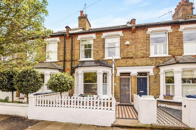 Thumbnail Terraced house for sale in Somerset Road, Chiswick, London