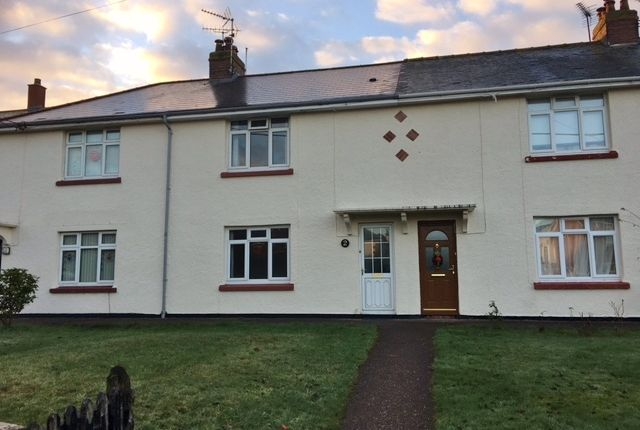 Thumbnail Terraced house for sale in Rockbeare Village, Nr Exeter