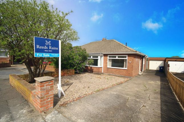 Thumbnail Bungalow for sale in Northbank Crescent, Ormesby, Middlesbrough