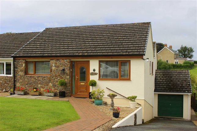 Thumbnail Semi-detached bungalow for sale in Pentle Drive, Pentlepoir, Saundersfoot