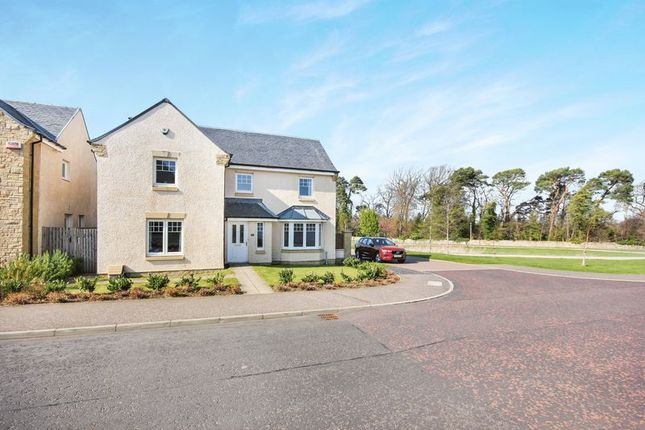 Thumbnail Detached house for sale in Wester Kippielaw Drive, Dalkeith