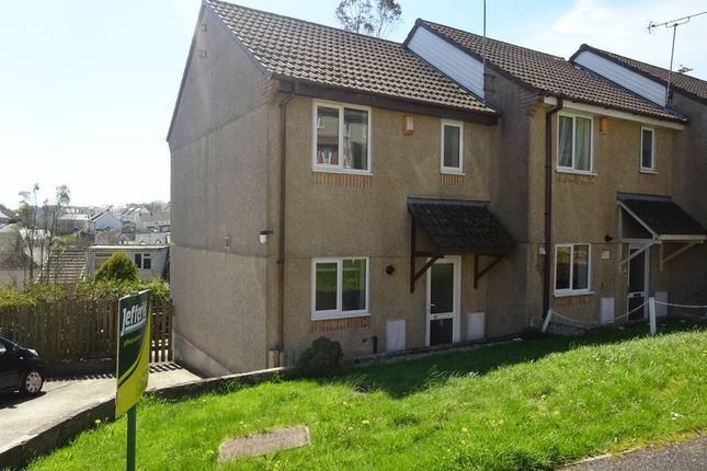 Thumbnail End terrace house to rent in Holywell Road, Liskeard