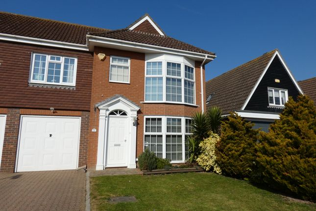 2 bed semi-detached house to rent in Cowdray Drive, Rustington, Littlehampton BN16
