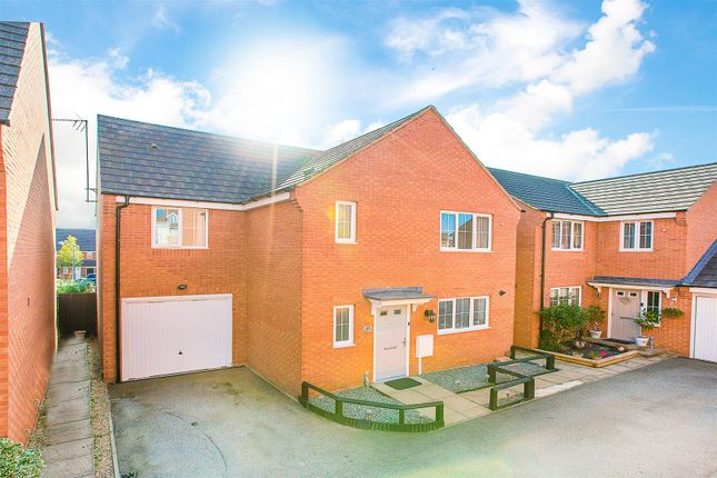 Thumbnail Detached house for sale in Flycatcher Road, Corby