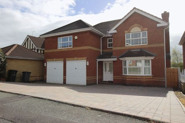 Thumbnail Detached house to rent in Davenport Way, Newcastle-Under-Lyme